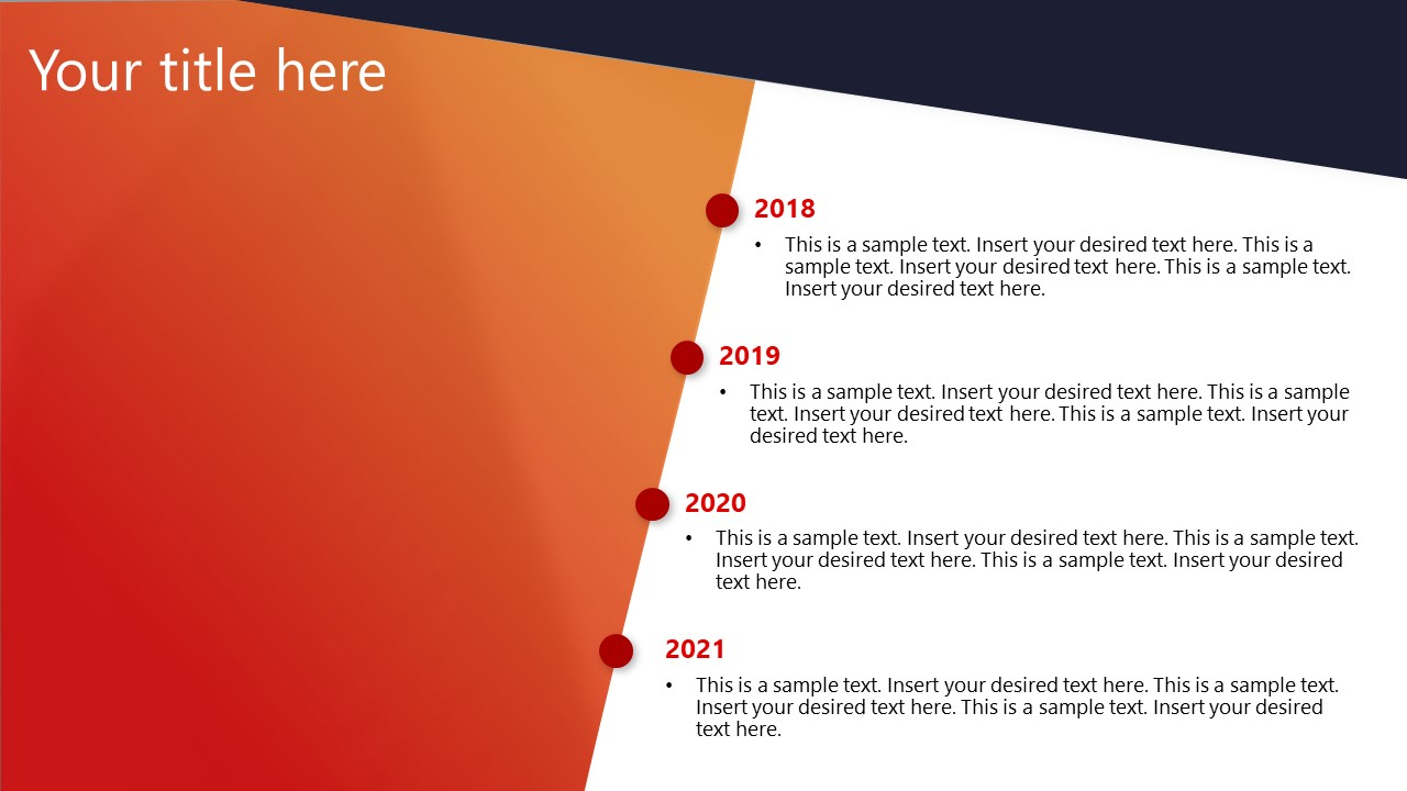 Timeline Templates for Corporate Planning PPT