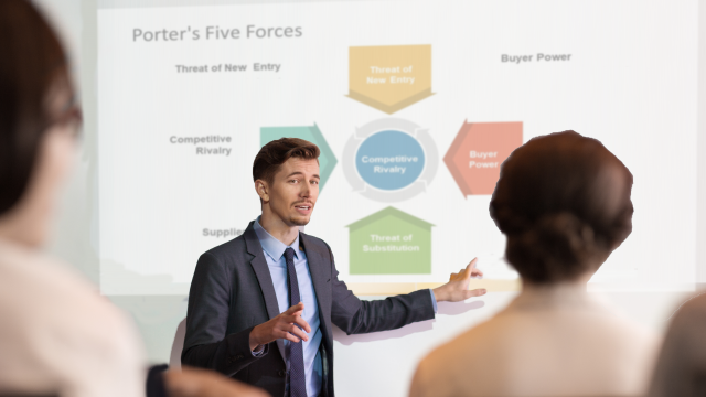 The Presenter's Guide to Porter's Five Forces Analysis