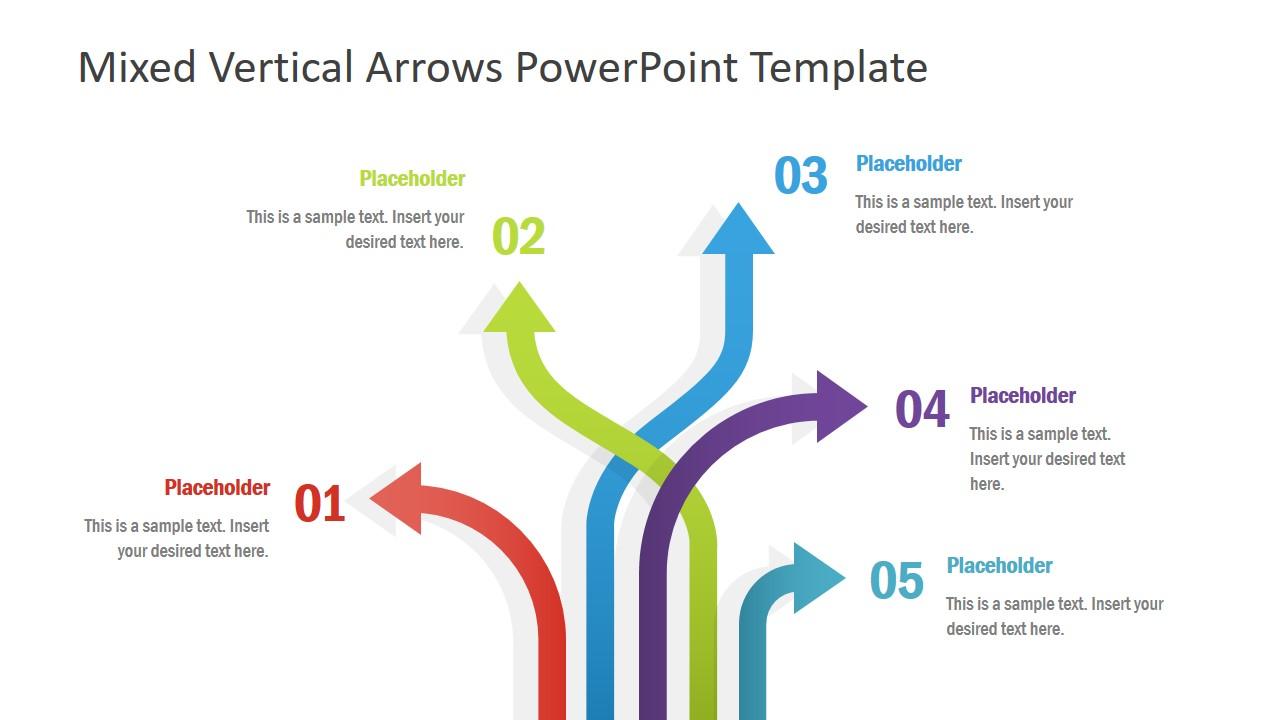 Multi Direction PowerPoint Diagram