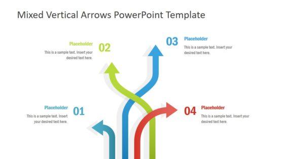 4 Arrow PowerPoint Diagram