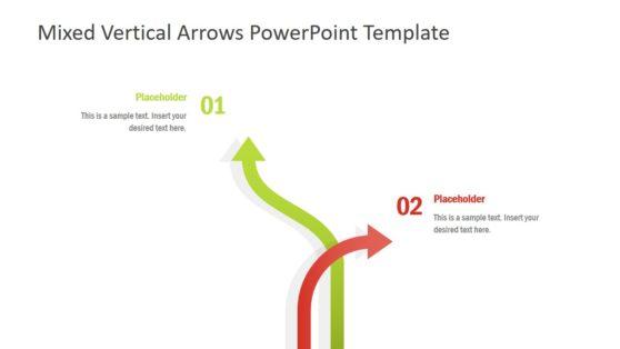 2 Arrow PowerPoint Diagram
