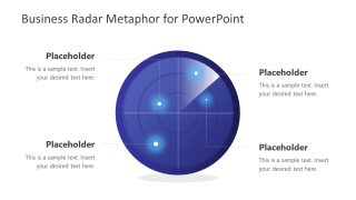 Business Radar PowerPoint Template