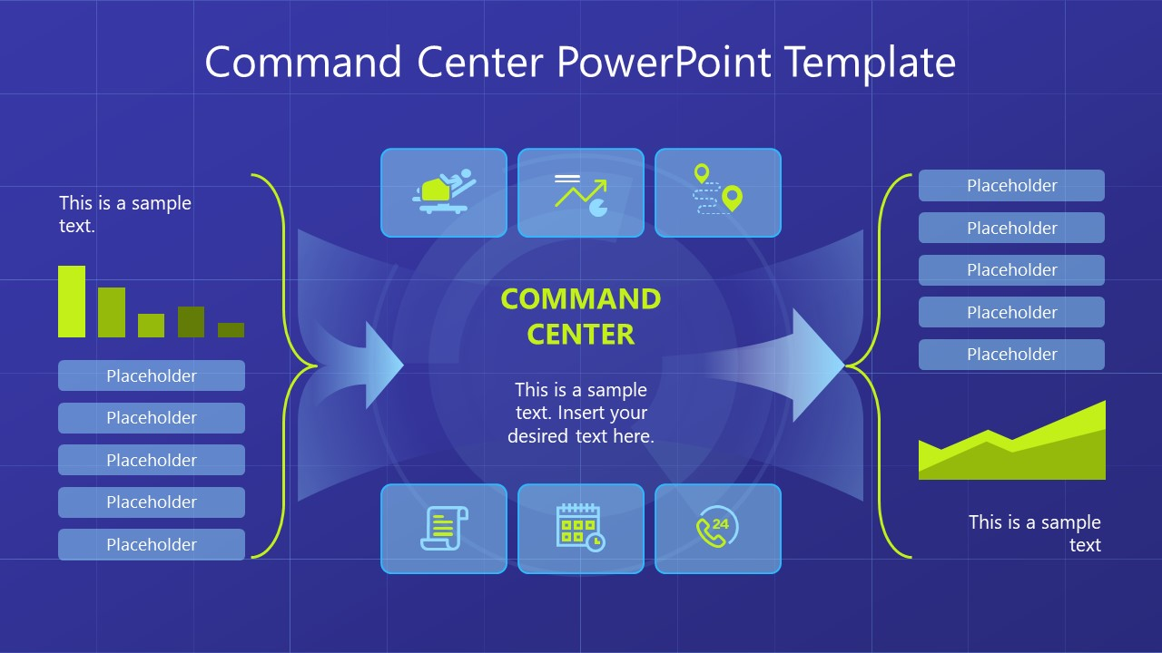 command center powerpoint template