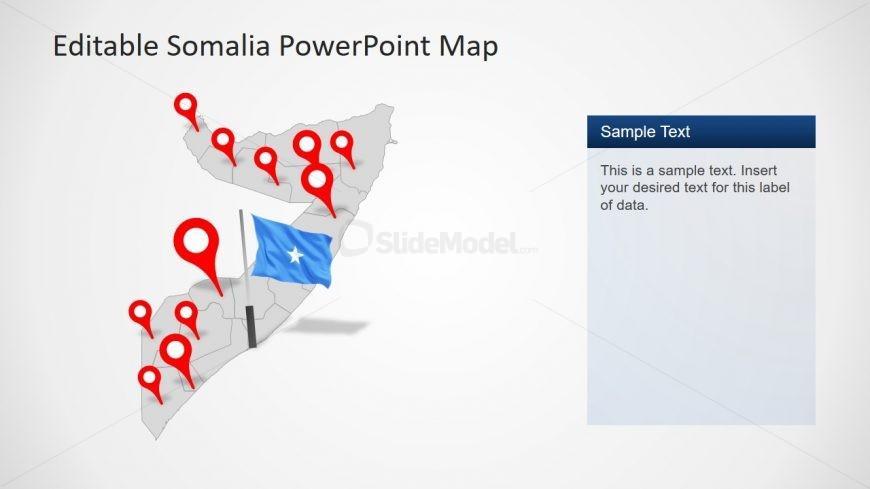 Presentation of Somalia Editable Map