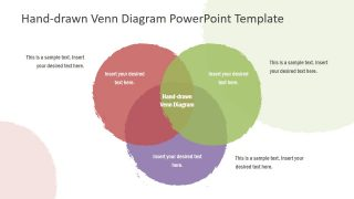 Hand-drawn Venn Diagram PowerPoint Template