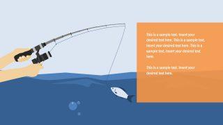 Slide of Fish Metaphors Fishing