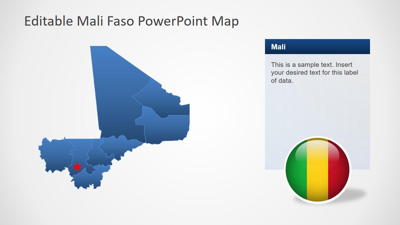 Slide of Editable Map