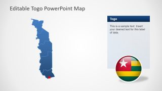 PPT Map of Togo