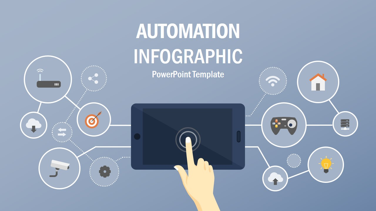 Clipart Infographics for Information Technology