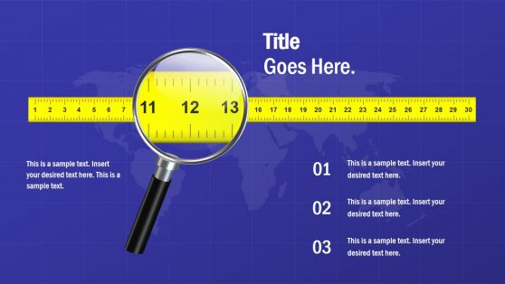 Measuring Tape Yellow PowerPoint