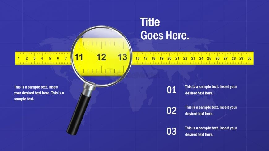 Business Measuring Tape Template