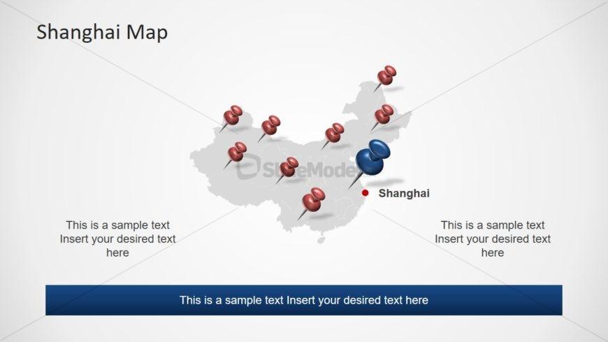 Editable Map of Shanghai