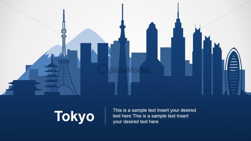 Tokyo Skyline Slide Design