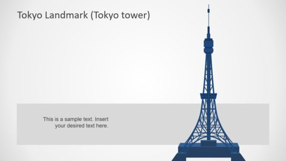 Tokyo Tower Silhouette Template