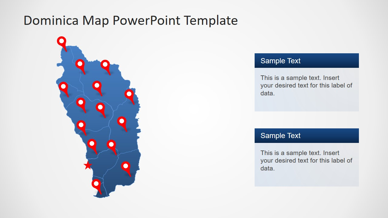 Location Marker PowerPoint Template