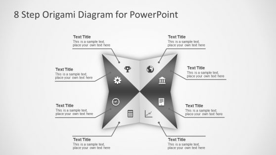 Template of Origami Design Diagram