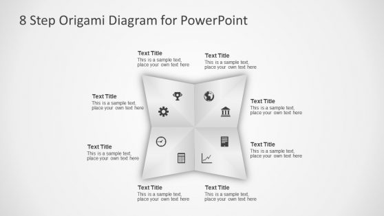 Circular Origami Clipart Slide