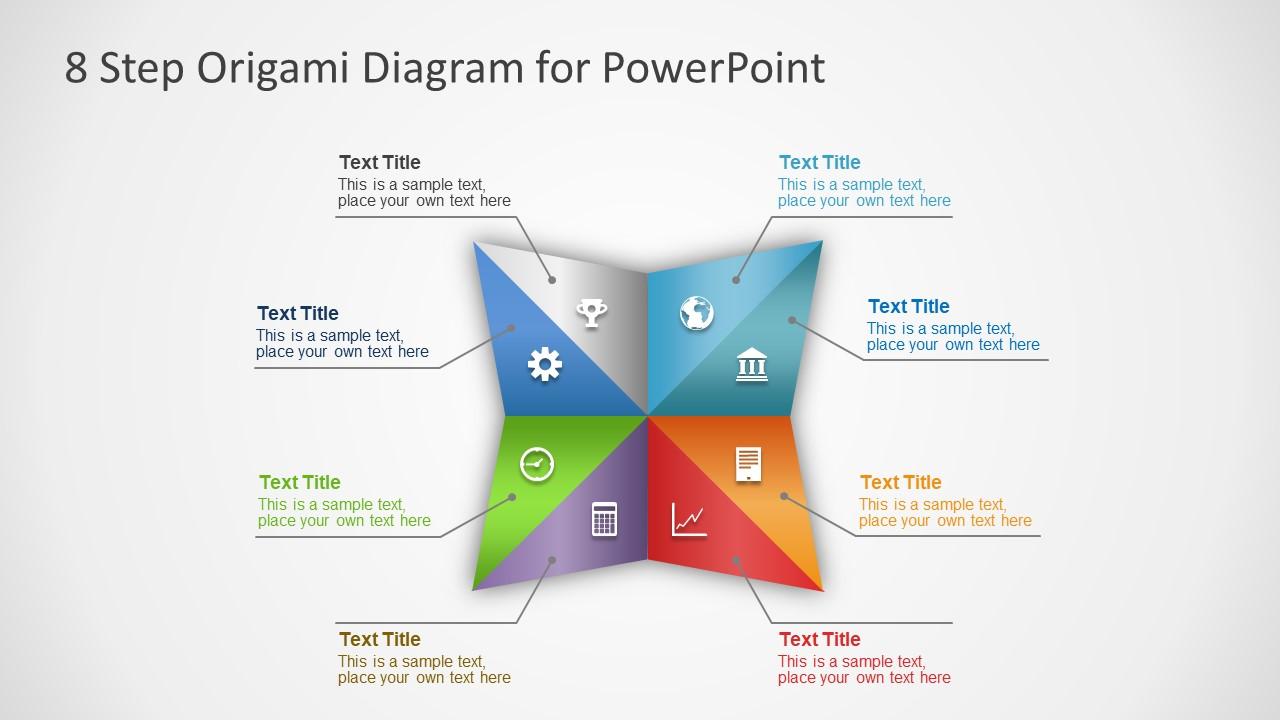 Slide of 8 Steps PowerPoint Design