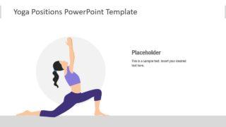 Stretching Yoga Pose Slide