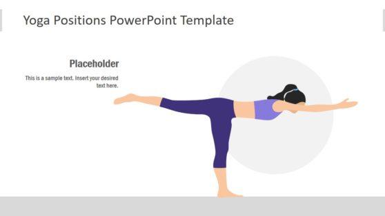 PowerPoint Yoga Position Slide