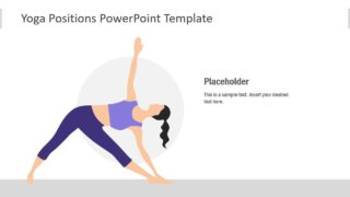 PowerPoint Silhouette Yoga Poses