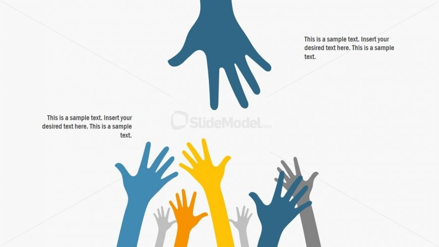 Hand Gesture Presentation Crowd