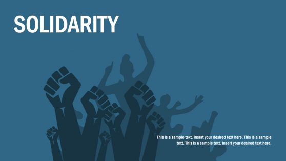 Solidarity Protect Graphics PowerPoint