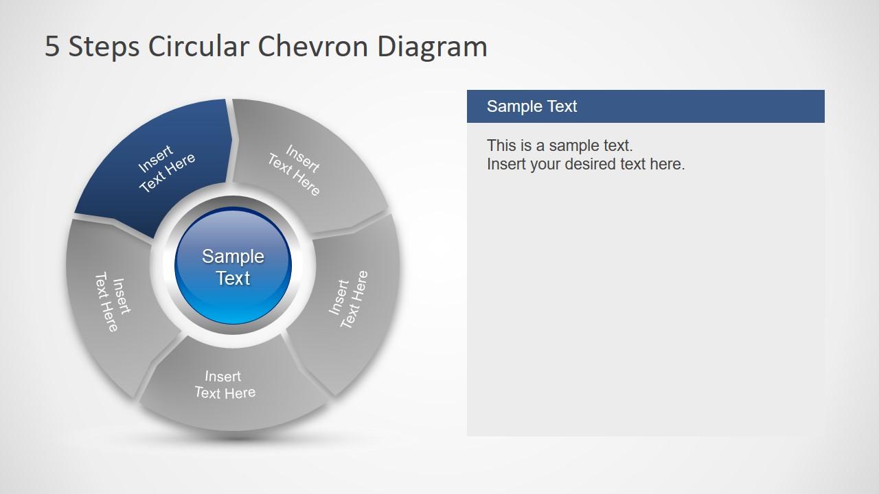 Flat Chevron Diagram Template