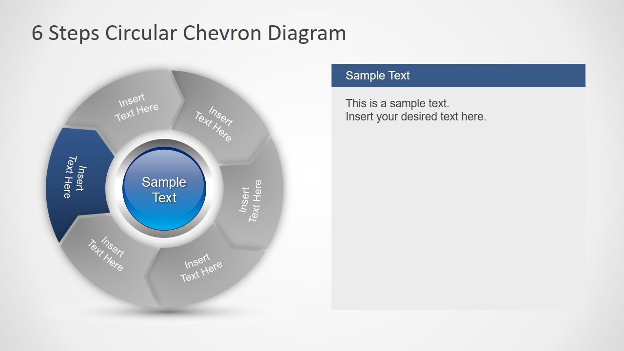6 Steps of Flat Chevron Segments