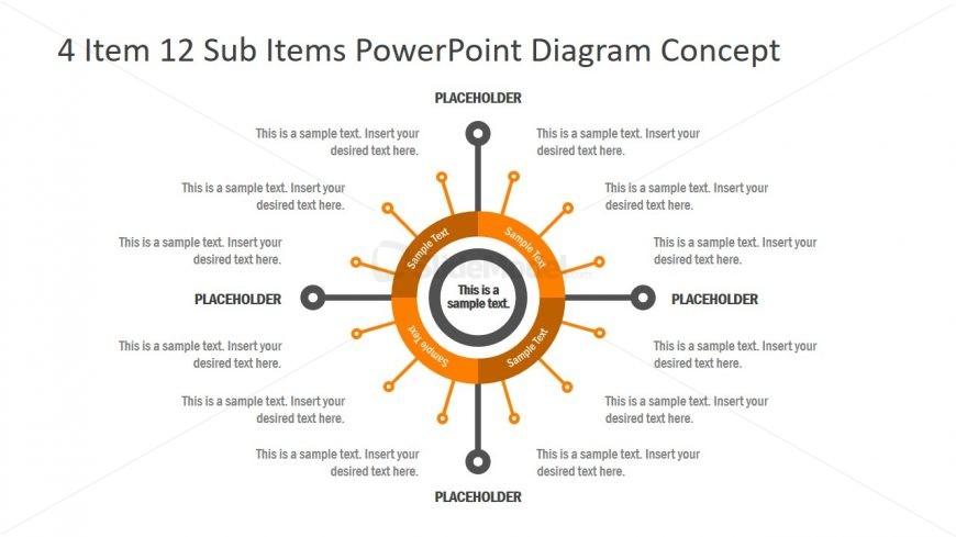 Slide of Flat Process Diagram