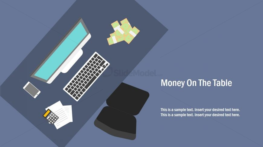 PPT Metaphor Template of Money