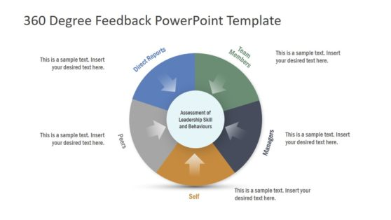 5 Steps Infographic Feedback PowerPoint