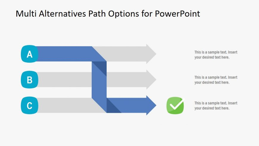 PowerPoint of Multi Options