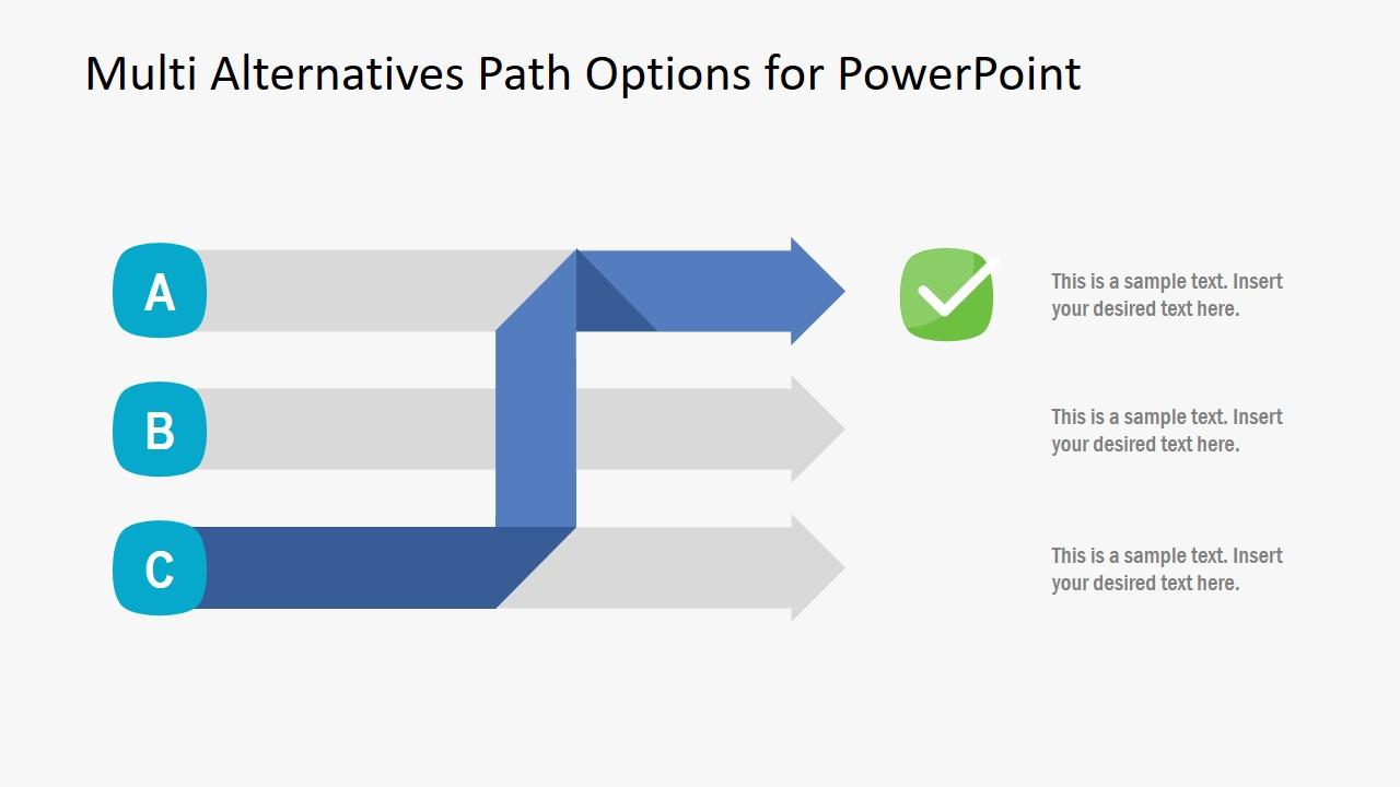 Flat PowerPoint of Multi-Alternatives