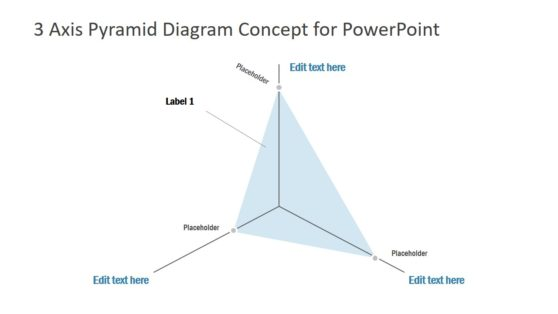 3 Axis PowerPoint Diagram Template