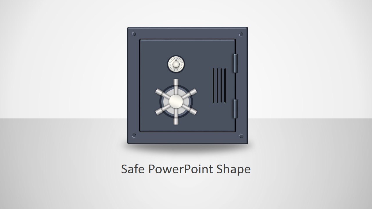 Animated safe shapes template for powerpoint slidemodel animated safe clipart illustration for powerpoint toneelgroepblik Choice Image