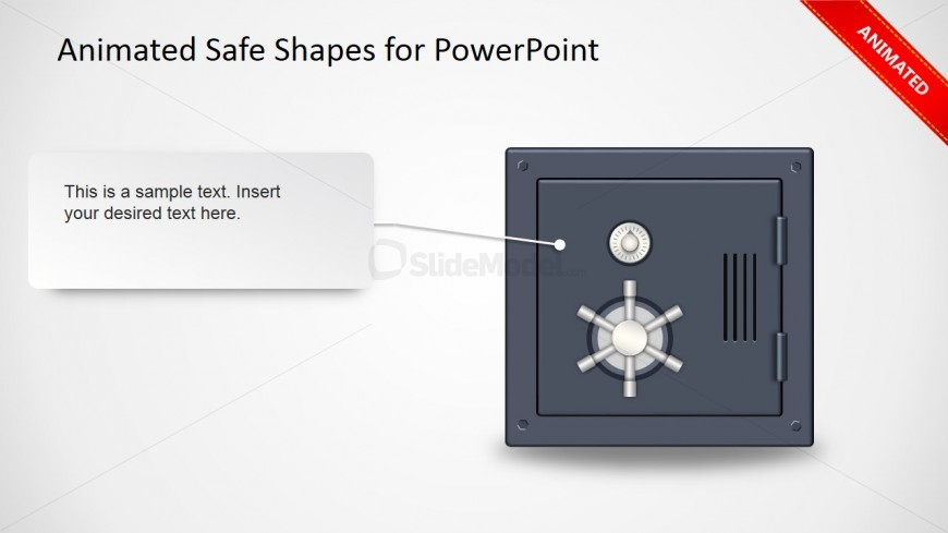 Animated Safe Clipart PPT Slide Design