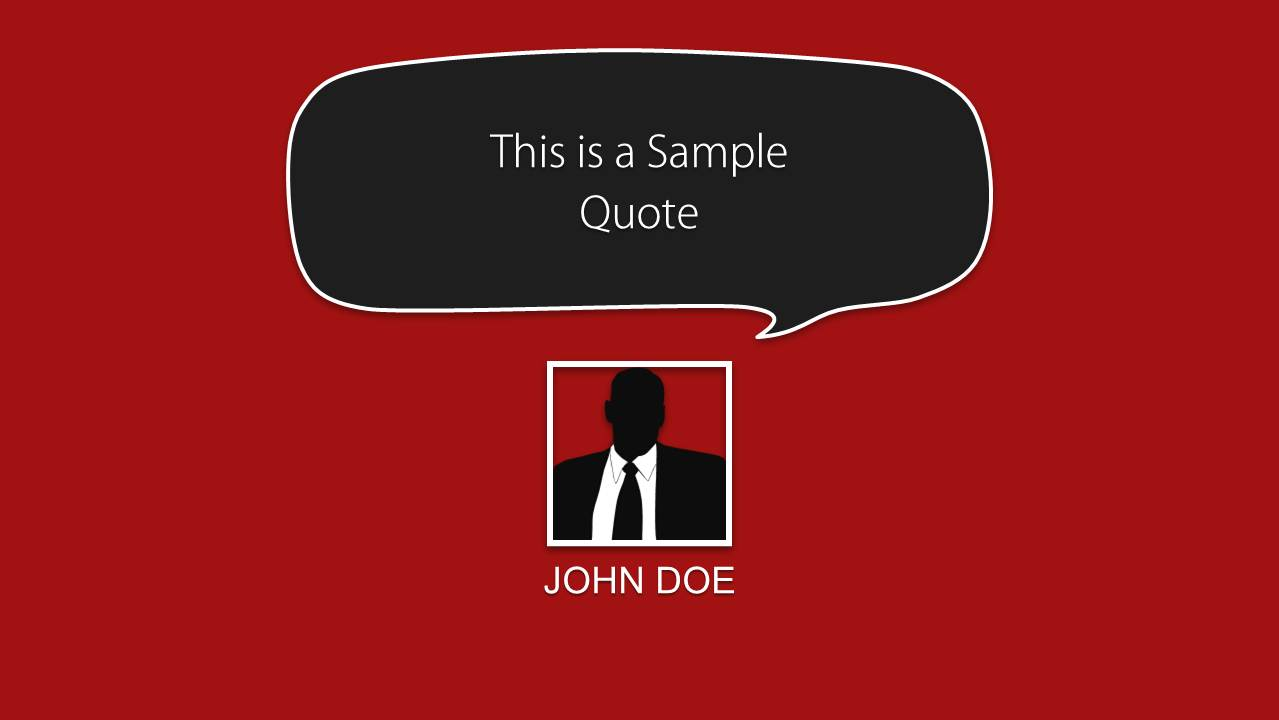 quote layouts for powerpoint