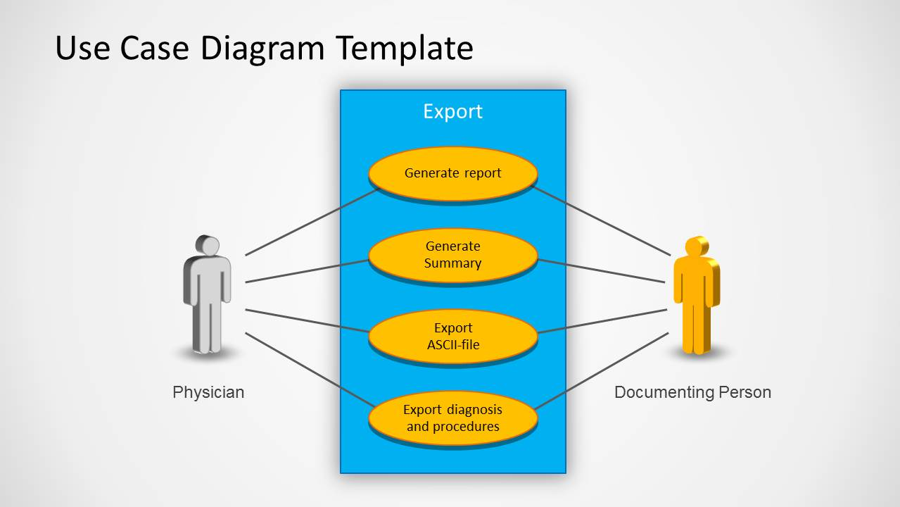 Use case powerpoint diagram slidemodel use case powerpoint diagram ccuart Images