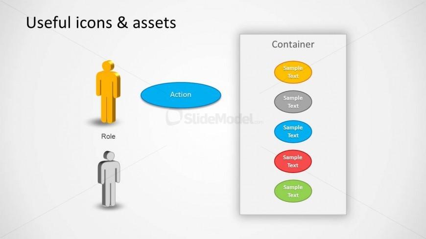 Use Case Diagram For Powerpoint  Useful Elements  Slidemodel