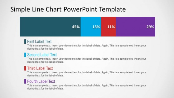 Stacked Bard Chart with Series PowerPoint Slide Design