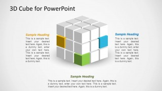 3D Cube Design for PowerPoint