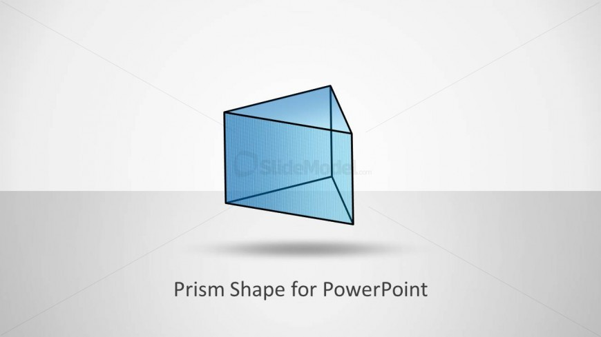 Prism Shape Design for PowerPoint