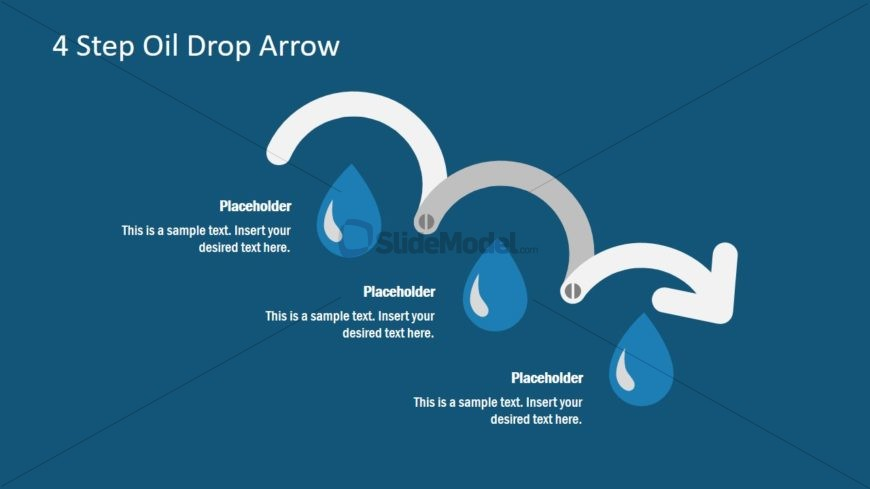 Oil Drop PowerPoint Diagram Template