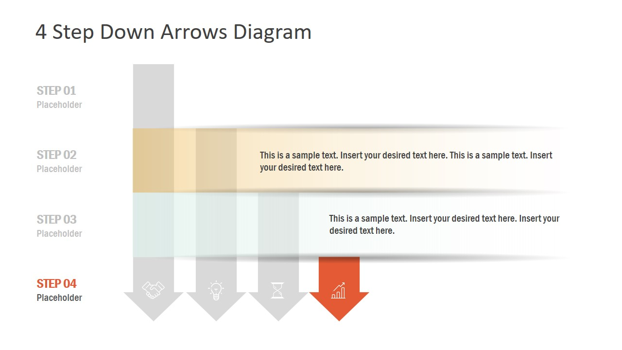 PowerPoint Diagram of Arrow Template