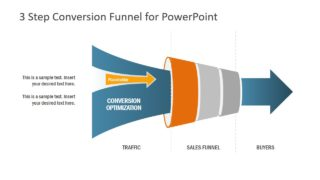 Funnel PowerPoint in 3 Steps