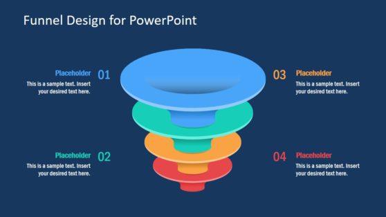 PowerPoint Funnel Color Design
