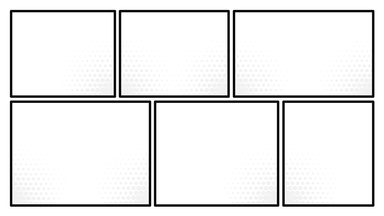 Square Comic Book Frames