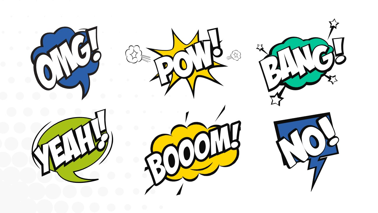Comic Effects PowerPoint Template