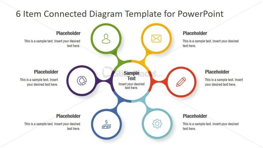 Spoke and Hub Diagram Template